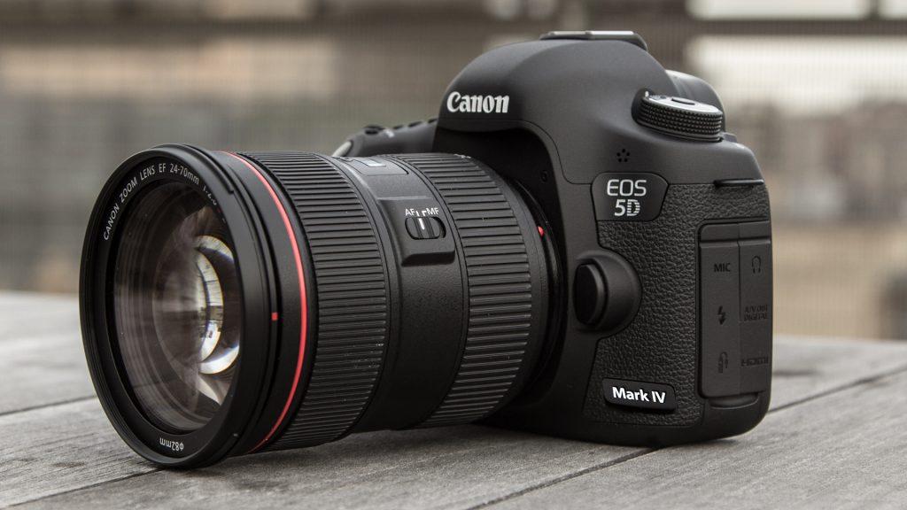 5D Mark IV fotoaparato nuoma