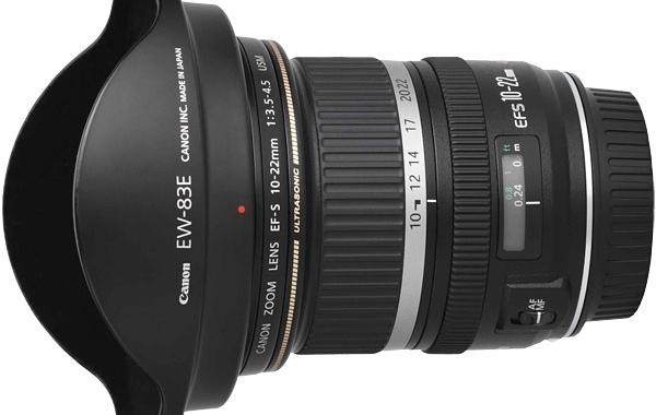 Canon 10-22mm F/3,5-4,5 USM objektyvo nuoma