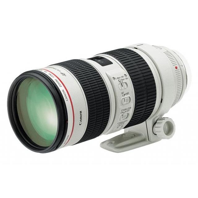 Objektyvų nuoma. Canon EF 70-200mm f/2.8L IS II USM