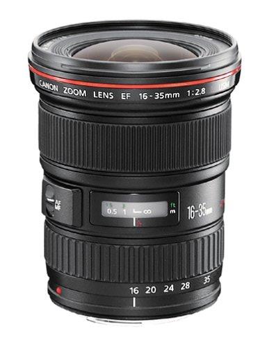 Canon objektyvo nuoma EF 16-35mm f/2.8L II USM