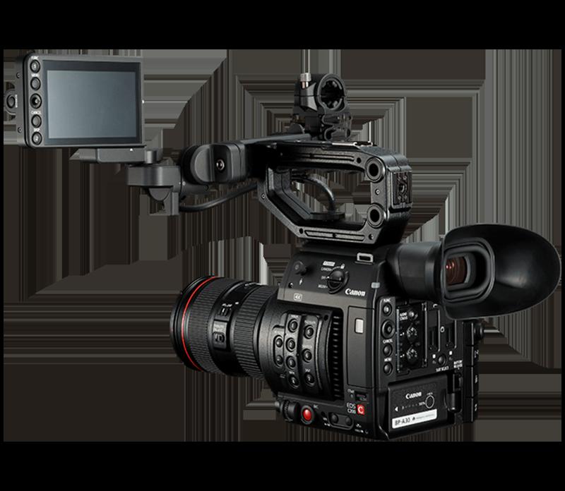 Video kameros Canon EOS C200 nuoma. Video įrangos nuoma.