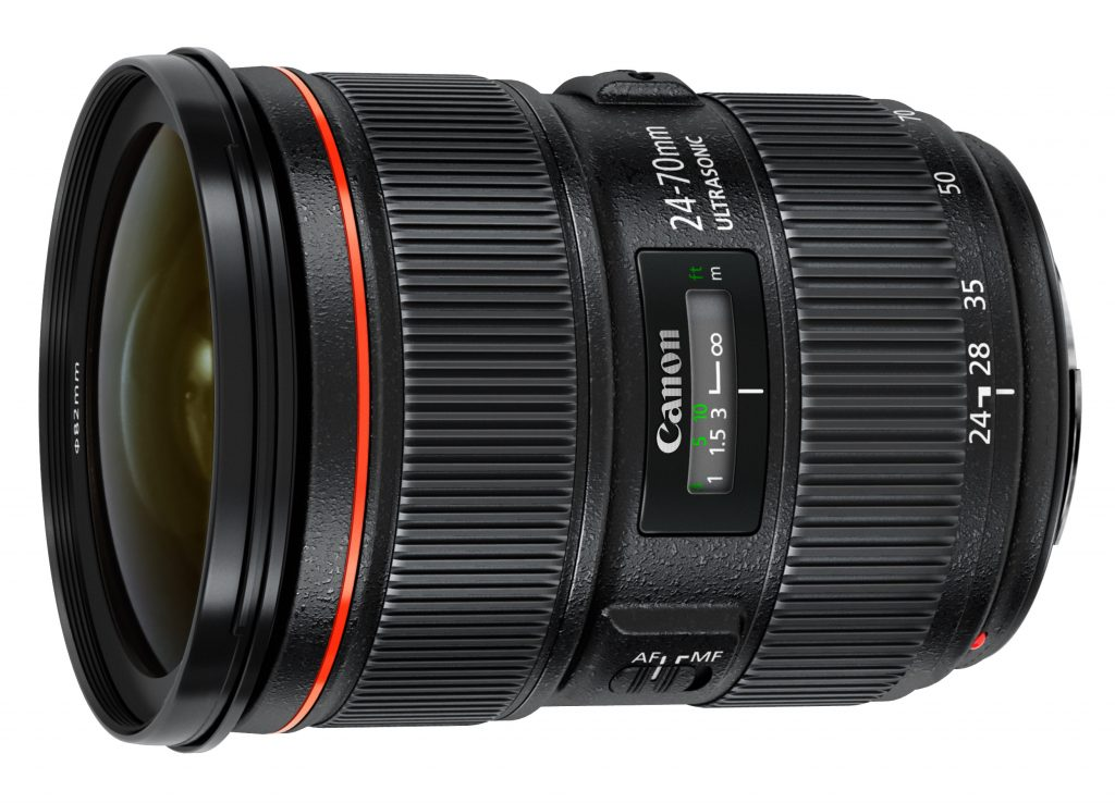 Canon EF 24-70 f/2.8L IS II USM objektyvo nuoma