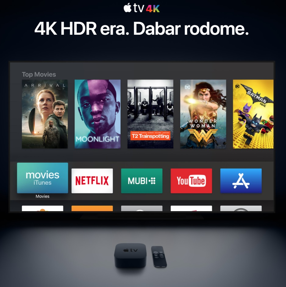 Apple TV 4K Nuoma