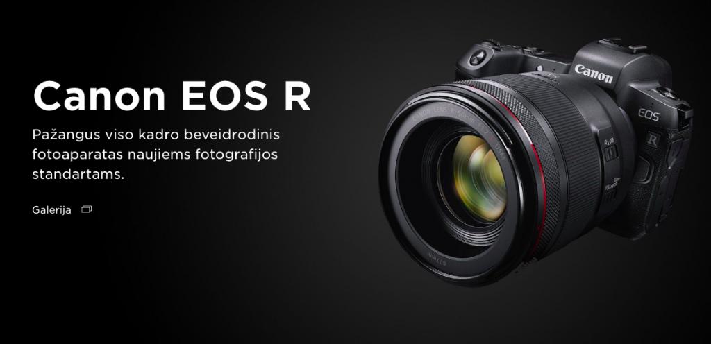 Canon EOS R nuoma