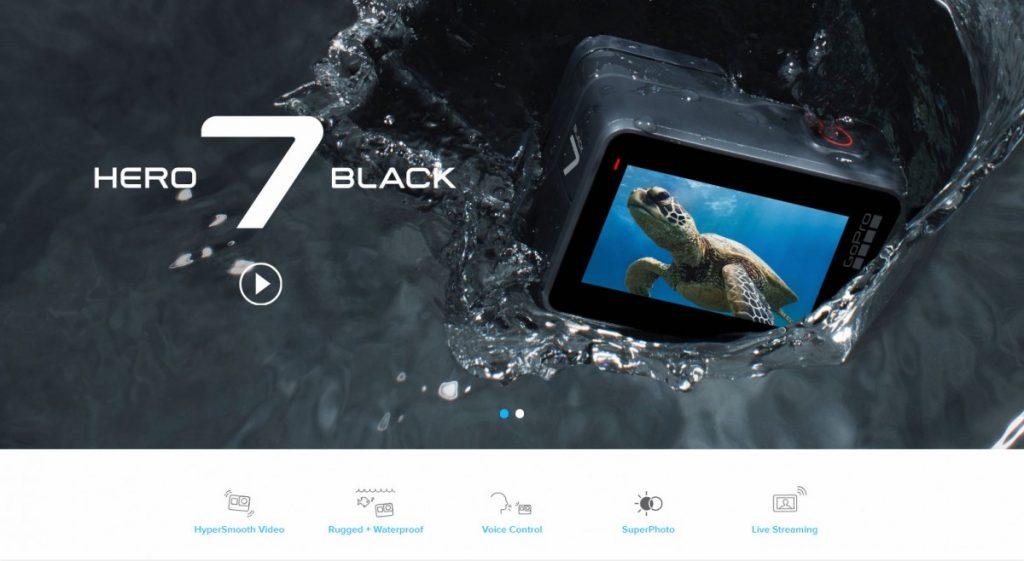 GoPro Hero 7 black nuoma