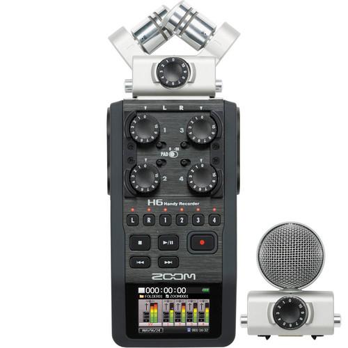 Diktofono Zoom H6 nuoma
